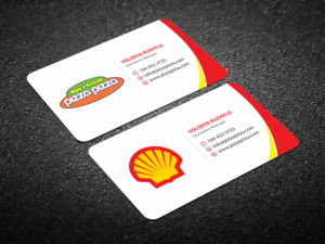 Serious modern business card design for shell gas station by more business card entries from this contest colourmoves