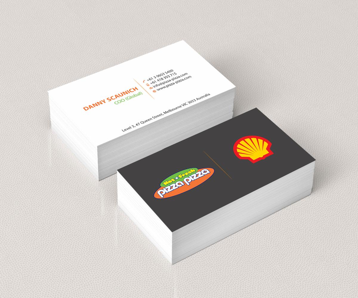 Serious modern restaurant business card design for shell gas business card design by madhuraminfotech for shell gas station design 14118923 colourmoves