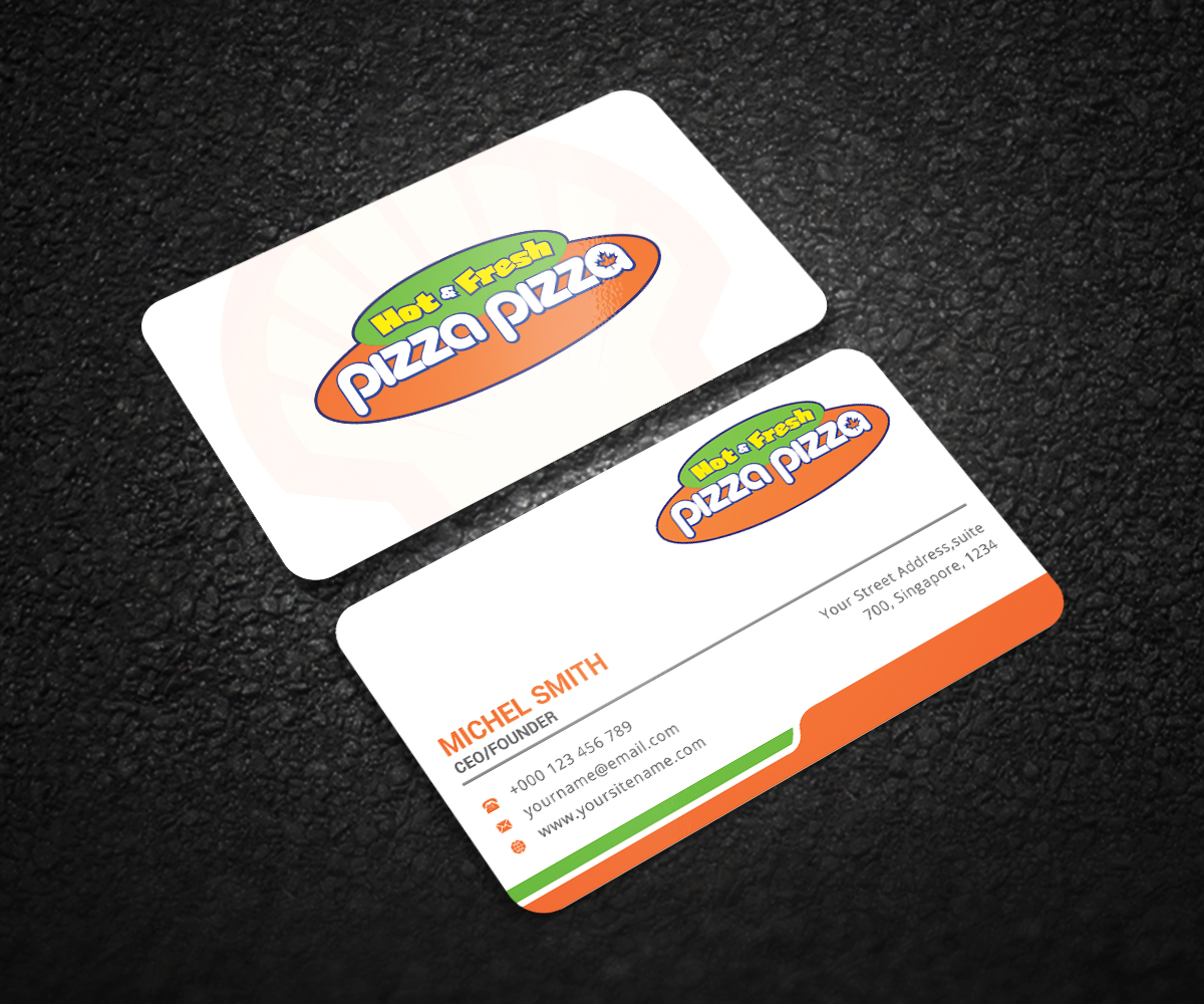 Serious modern restaurant business card design for shell gas business card design by graphic flame for shell gas station design 14069464 colourmoves