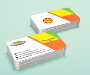 Shell business gas card best business cards 177 serious business card designs restaurant design colourmoves