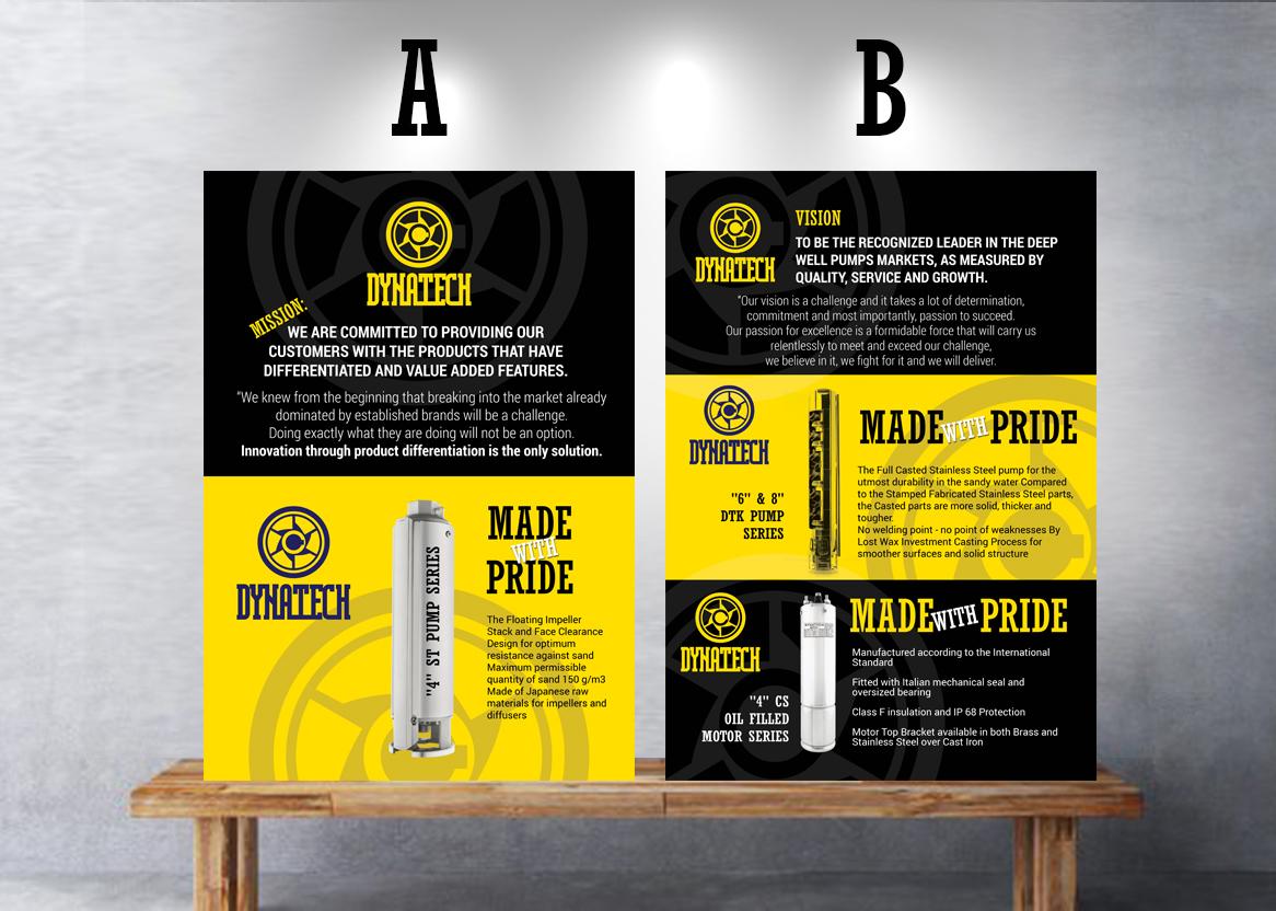 Poster design uk - Poster Design By Uk For Dynatech Pumps Needs A Creative Posters Design Design 14111321