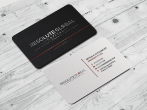 208 serious professional business card designs for a business in