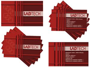 192 business card designs software business card design project business card design by alkid erkoaj for ladtech ltd design 2606144 colourmoves
