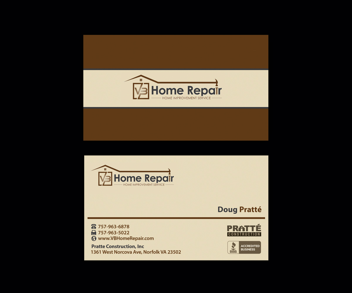 Bold masculine residential construction business card design for a bold masculine residential construction business card design for a company in united states design 13996992 reheart Image collections
