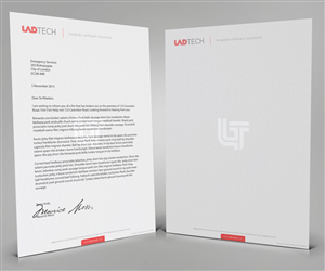 Letterhead Design by Cheeky Creative