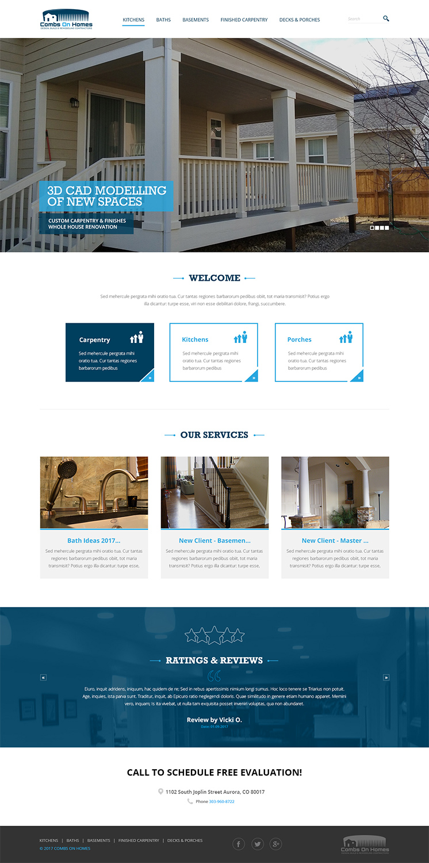 Bold Professional It Company Web Design For A Company By Designanddevelopment Design 14065853