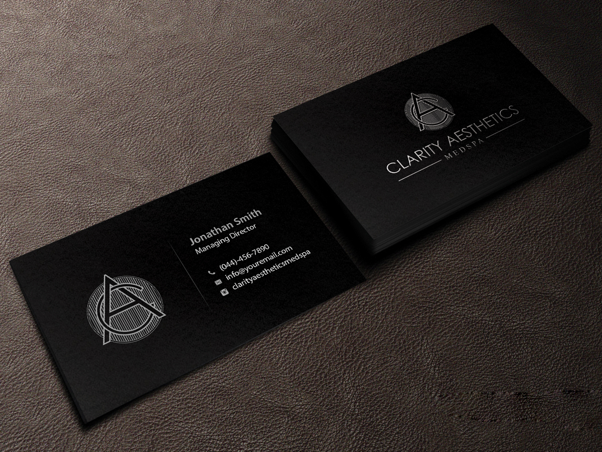 Serious, Upmarket Business Card Design for Erik castro by ...