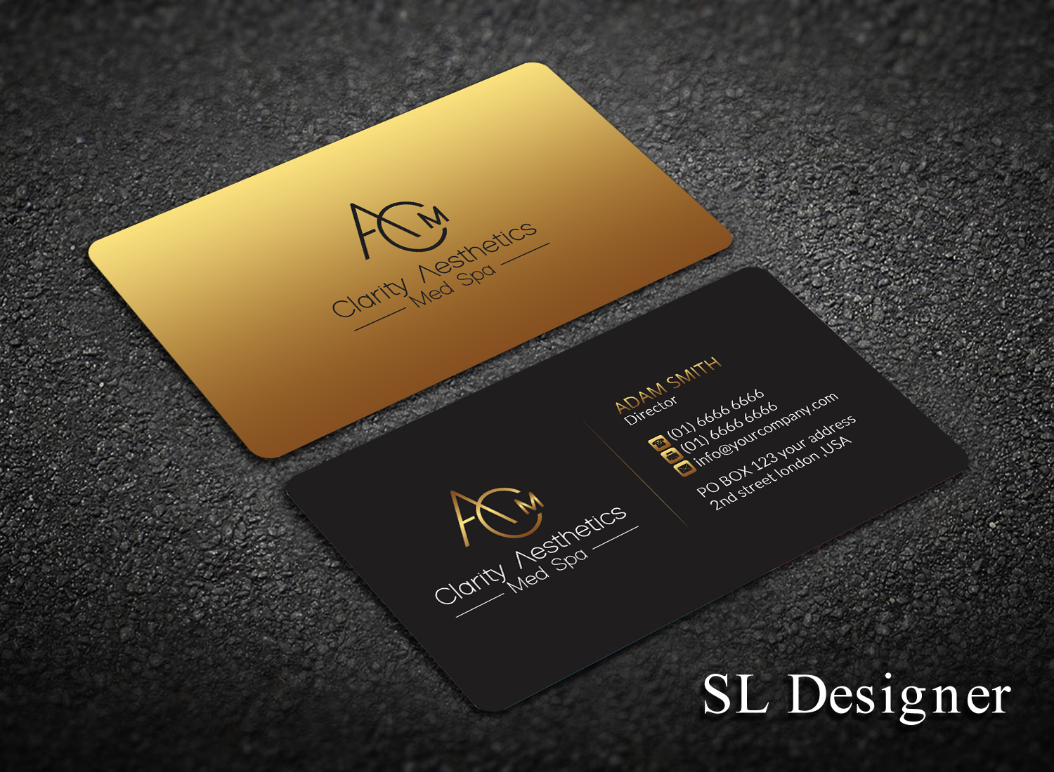 Serious, Upmarket, Medical Business Card Design for a Company by SL ...