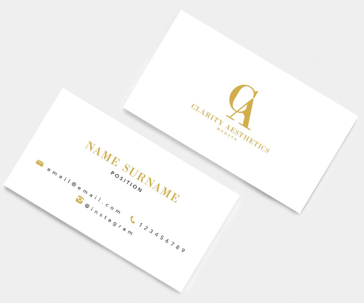 123 Serious Business Card Designs | Medical Business Card Design ...