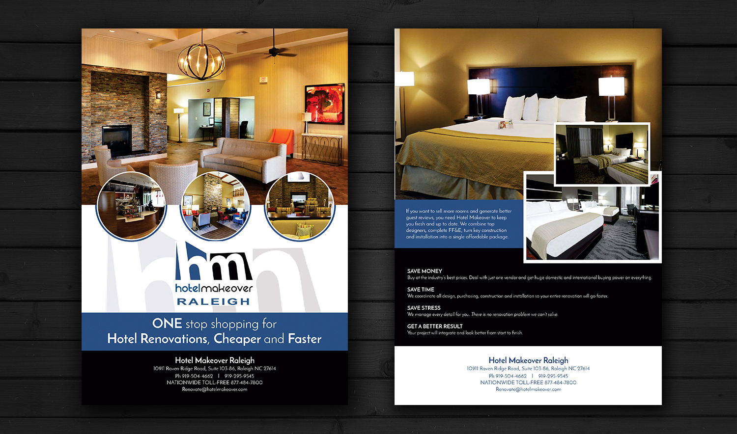 Room Designing App Professional Upmarket Hospitality Flyer Design For A
