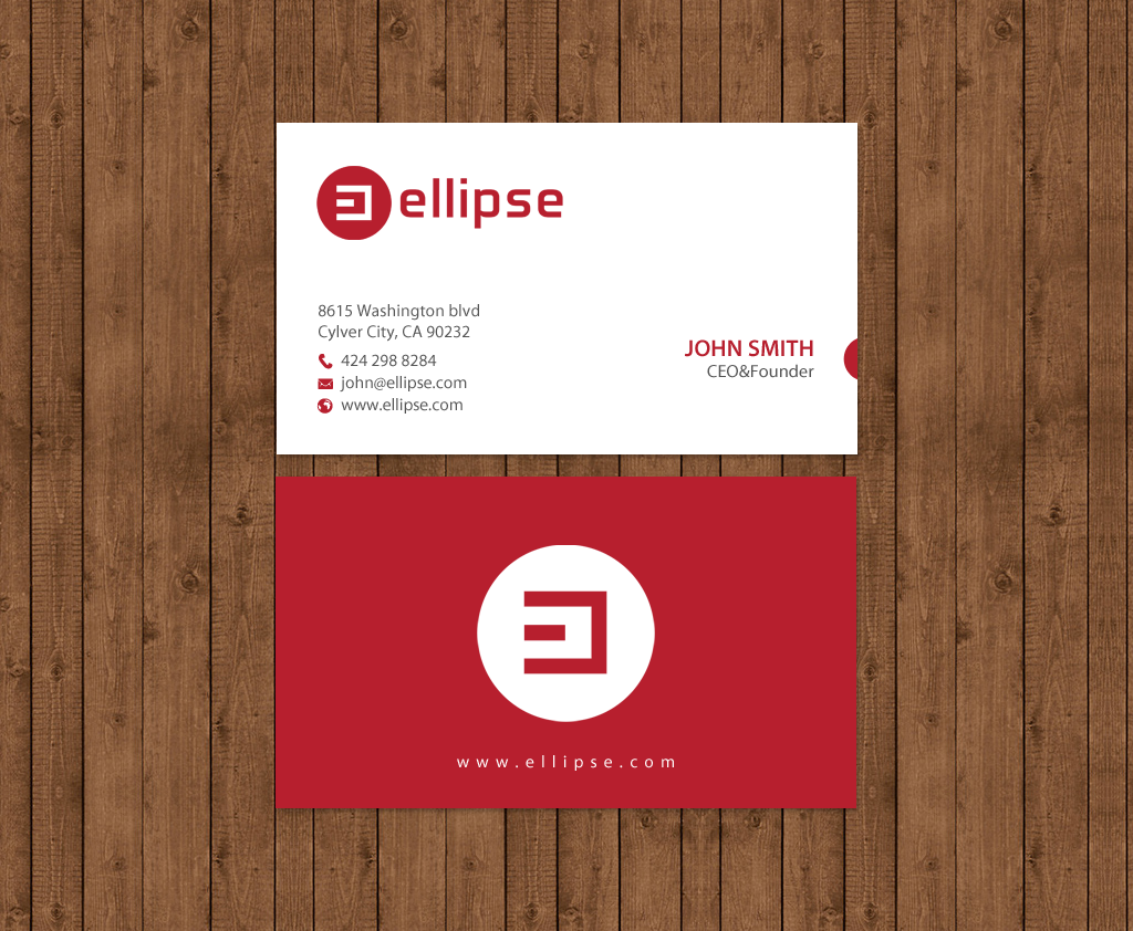 Upmarket serious startup business card design for ellipse by business card design by chandrayaaneative for ellipse design 14049524 colourmoves Choice Image