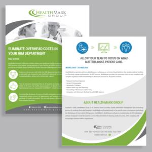 profesional serio flyer design job flyer brief for healthmark