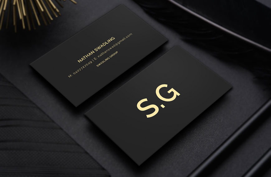 Conservative elegant finance business card design for a company by business card design by graphic flame for this project design 14224593 colourmoves
