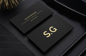 153 Conservative Business Card Designs Finance Business Card