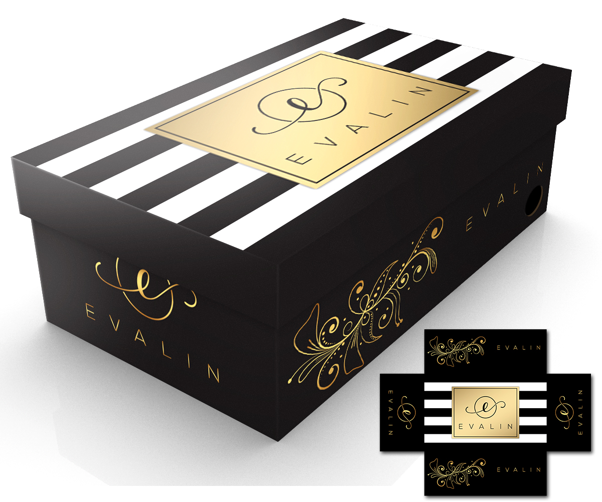Decorating A Shoe Box: Feminine, Personable, Shoe Packaging Design For A Company
