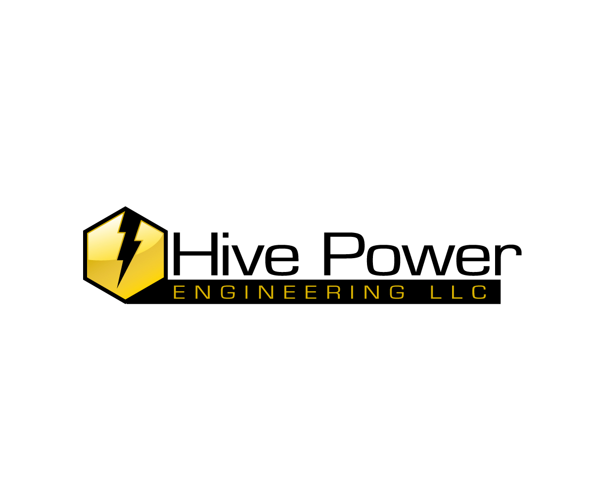 elegant modern electric company logo design for open to any ideas i initially thought name of the company next to the logo hive power first line the rest on second line if electric company logo design