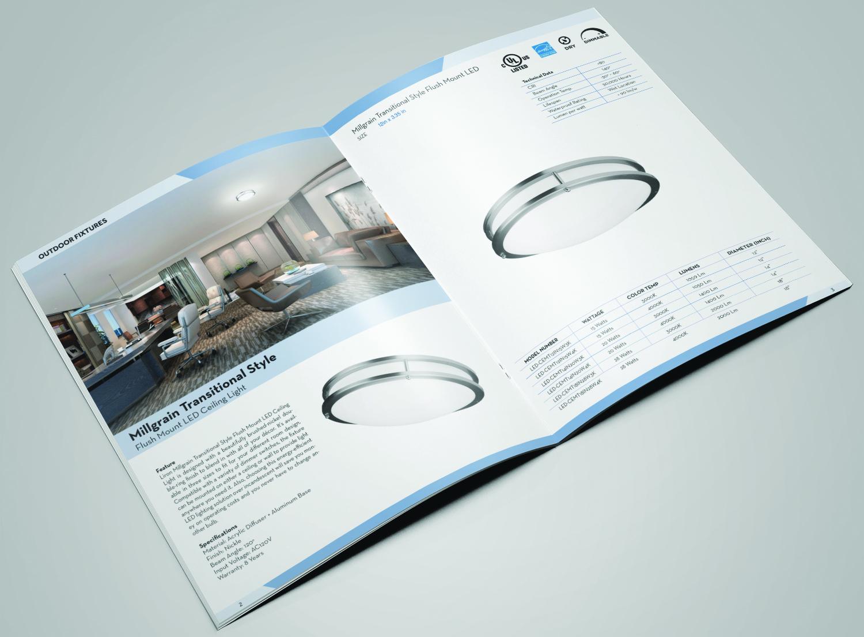 Professionell Elegant Manufacturer Katalog Design Für Liron