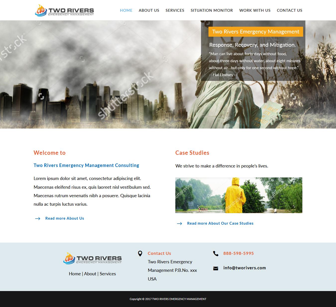 Modern masculine web design for michael morlan by for Masculine web design