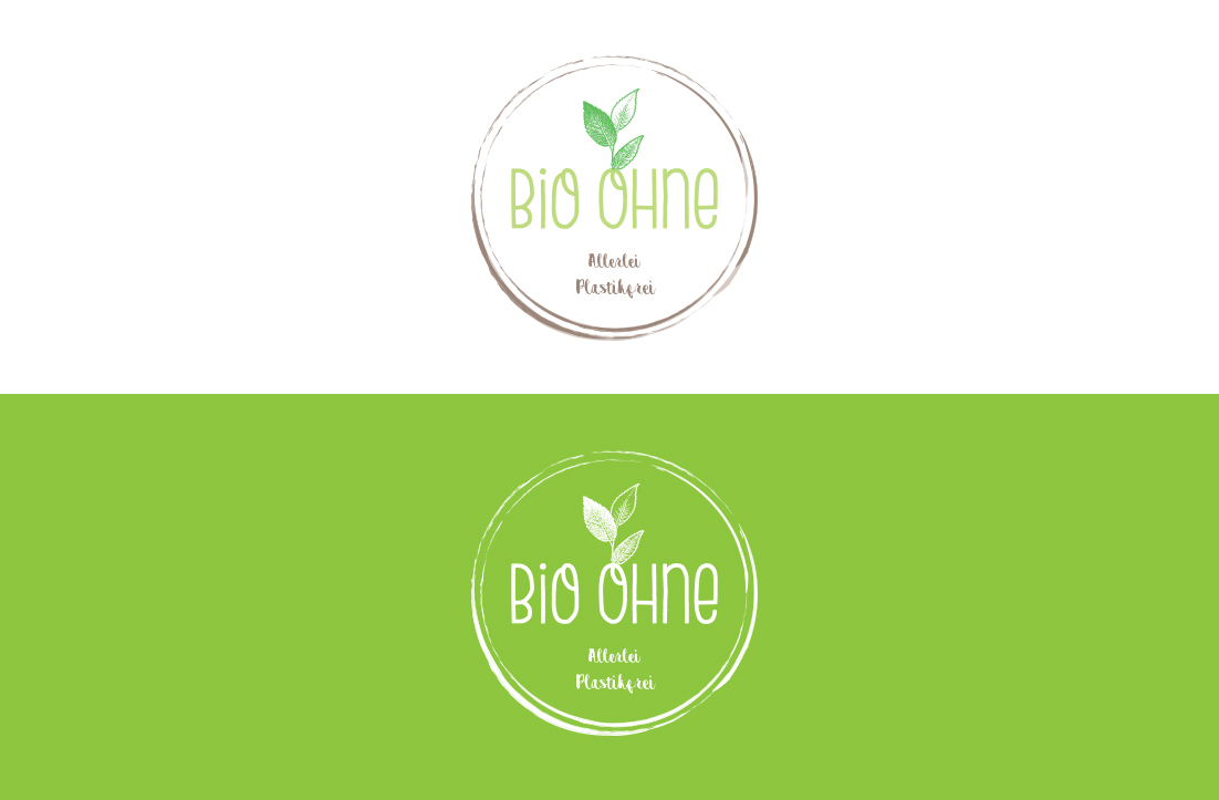 Packaging-free organic store logo by GLDesigns