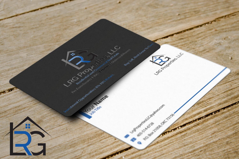 9 elegant business card designs real estate business card design business card design by riz for lrg properties llc design 14849236 colourmoves