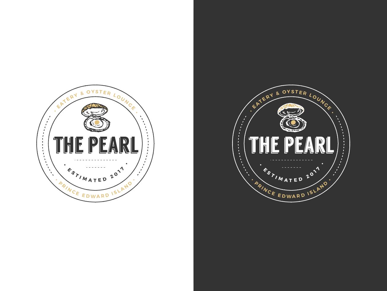 Elegant Upmarket Seafood Restaurant Logo Design For The