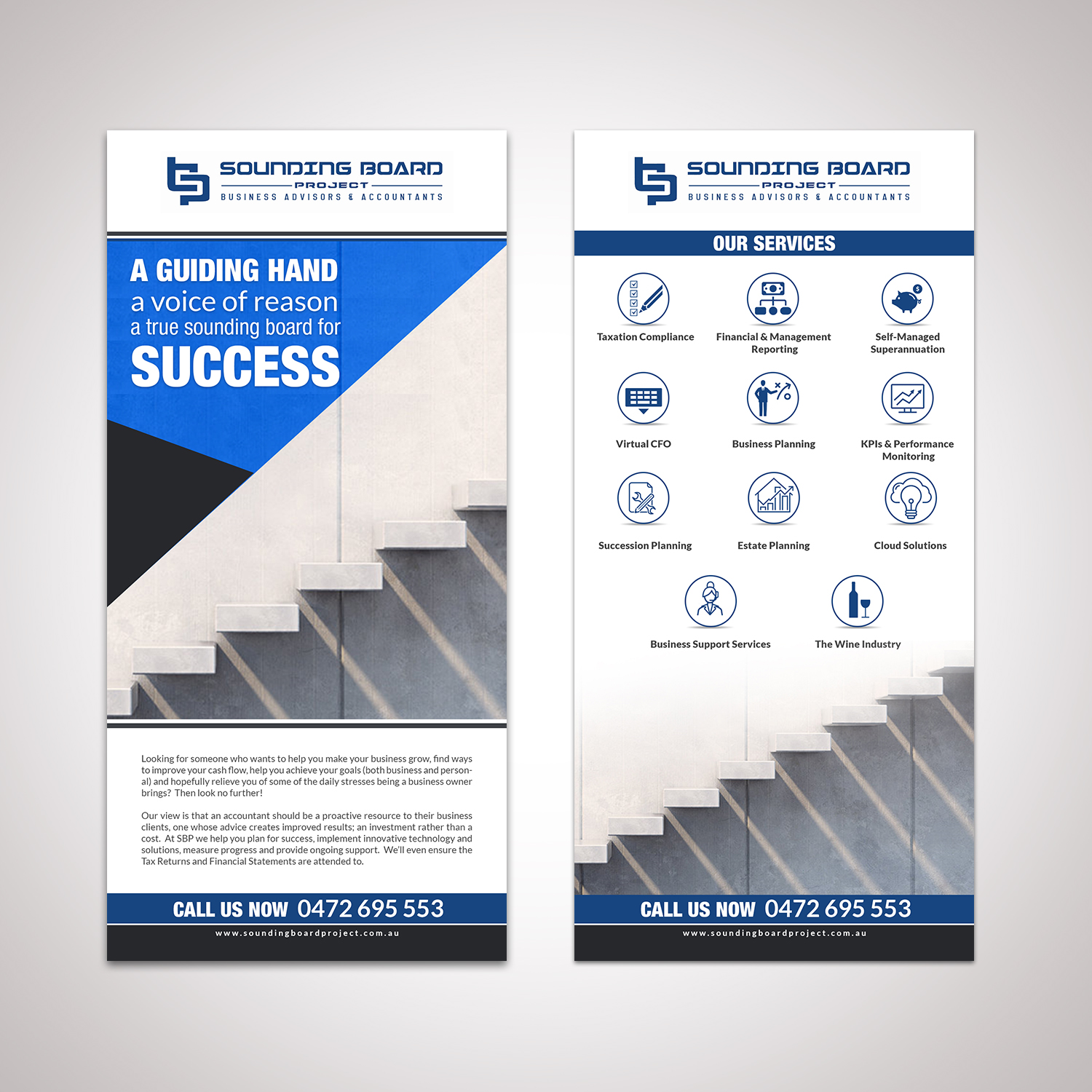 modern playful business flyer design for a company by hih7
