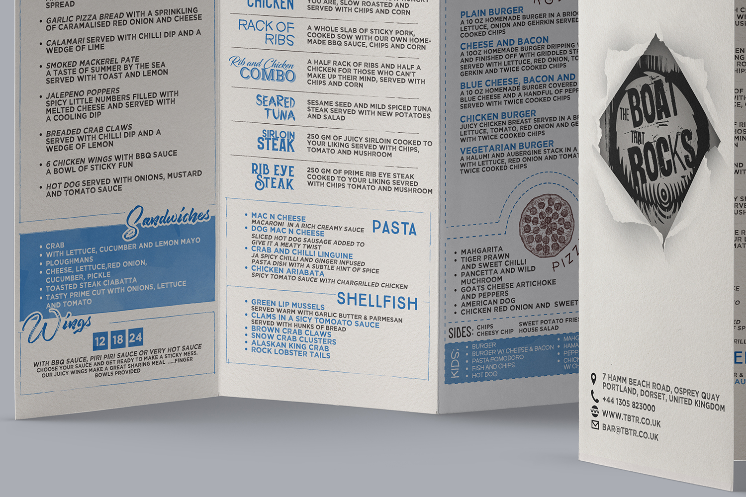 Playful Modern Restaurant Menu Design For Rocking Boat Restaurants Ltd By Mrmrnjr Design 14139866