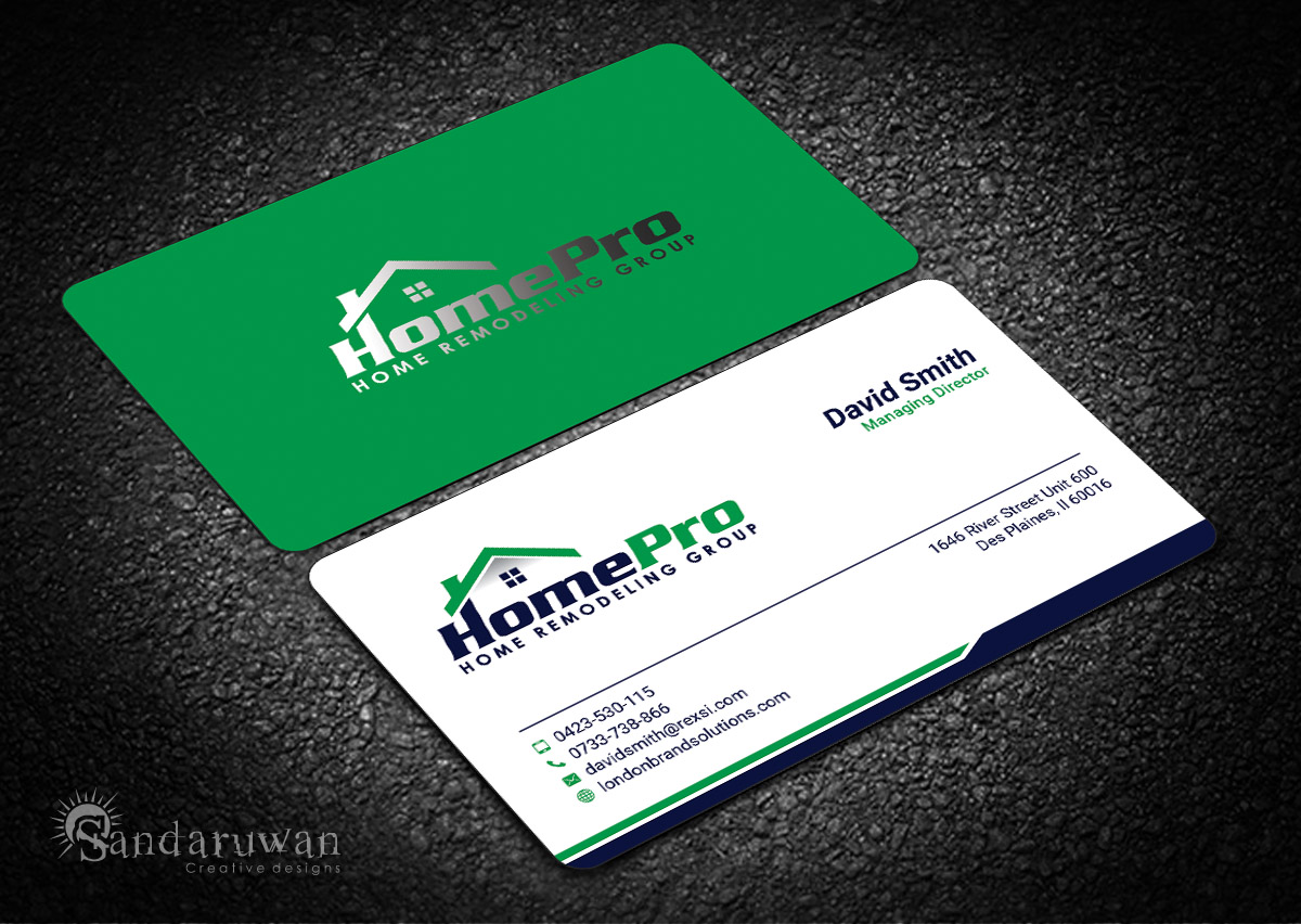 Business Card Design By Sandaruwan For This Project 14110915