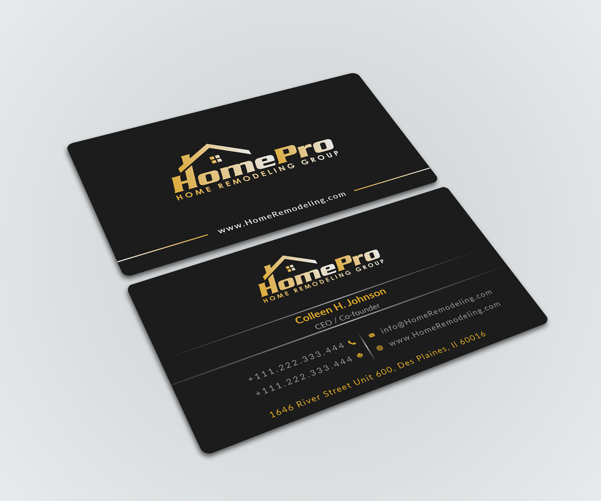 Business Card Design By Rocky For This Project 14149734