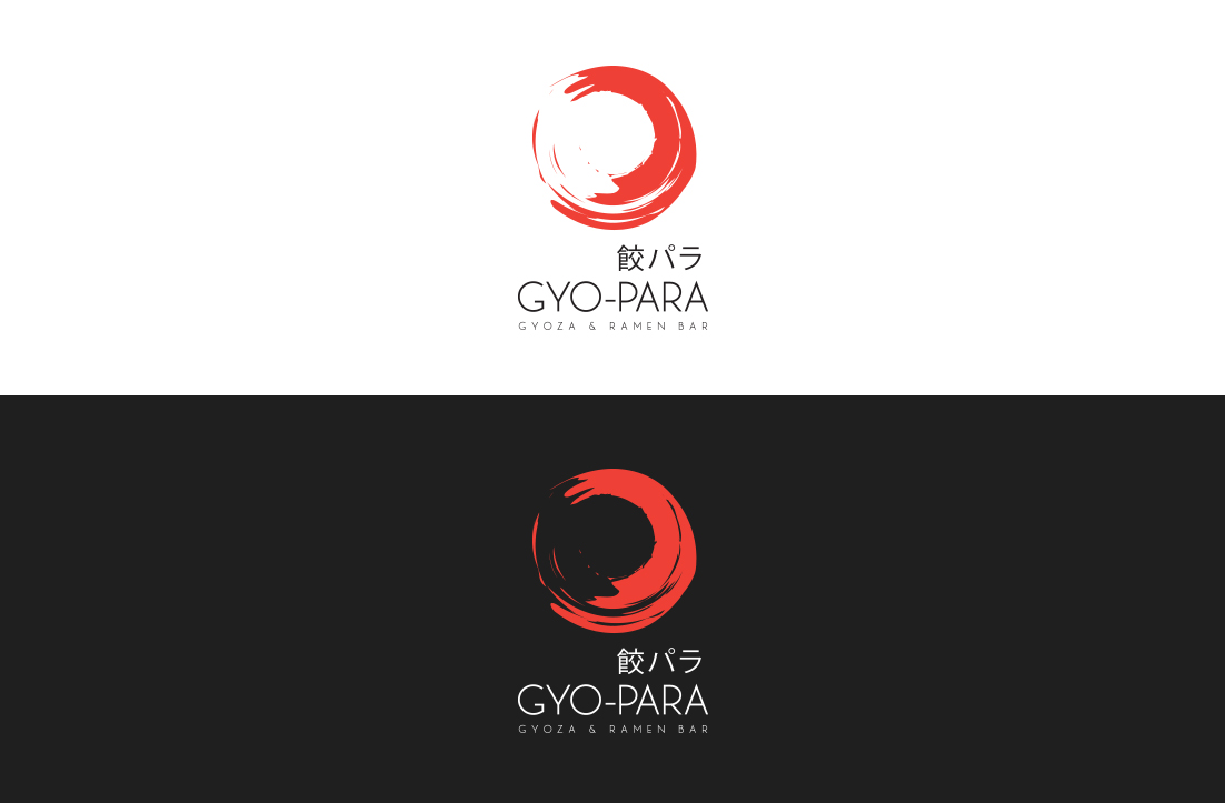 Playful Personable Japanese Restaurant Logo Design For Gyo Para 餃