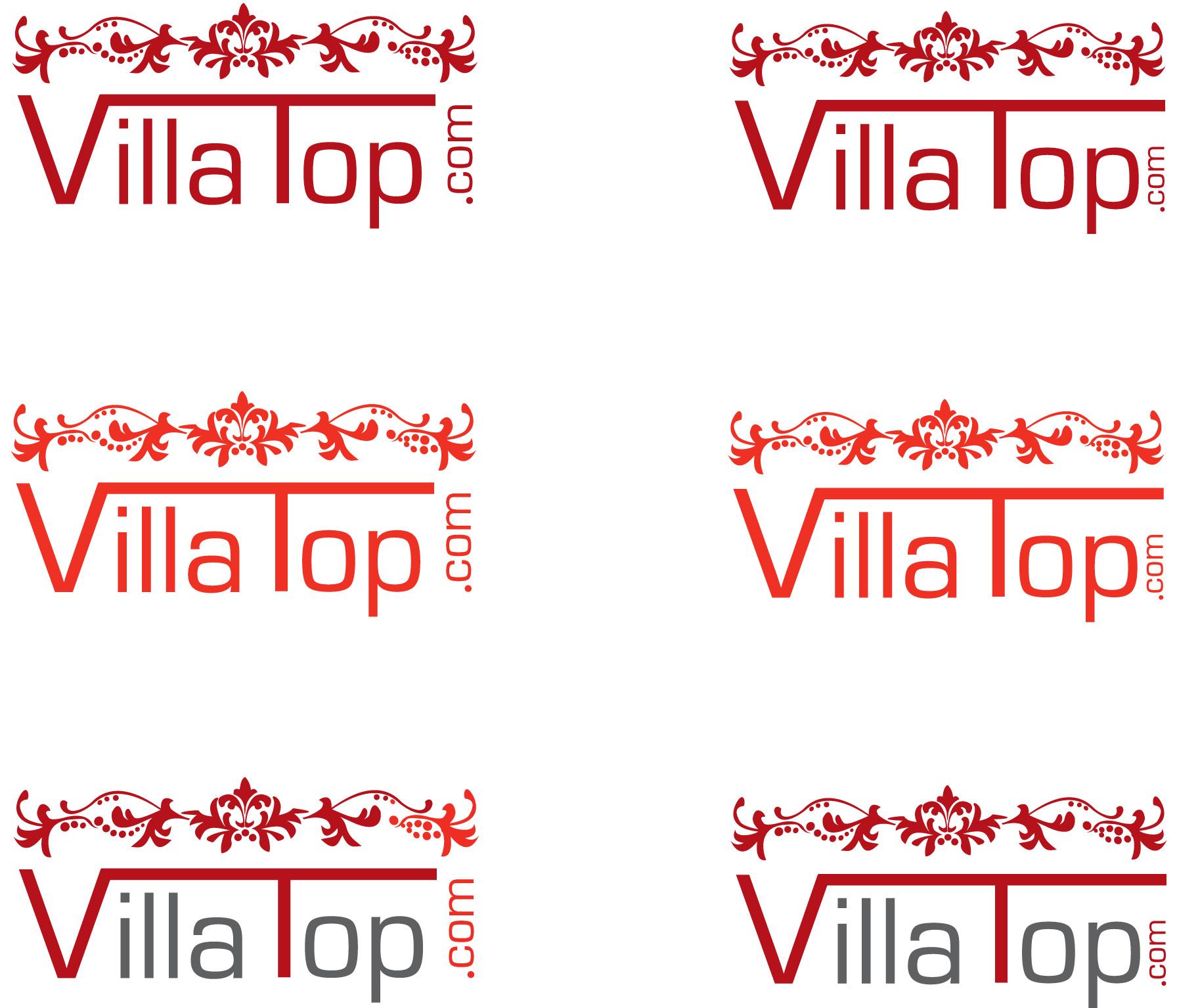 Property Logo Design for VillaTop com by Helvetica Bold Graphic