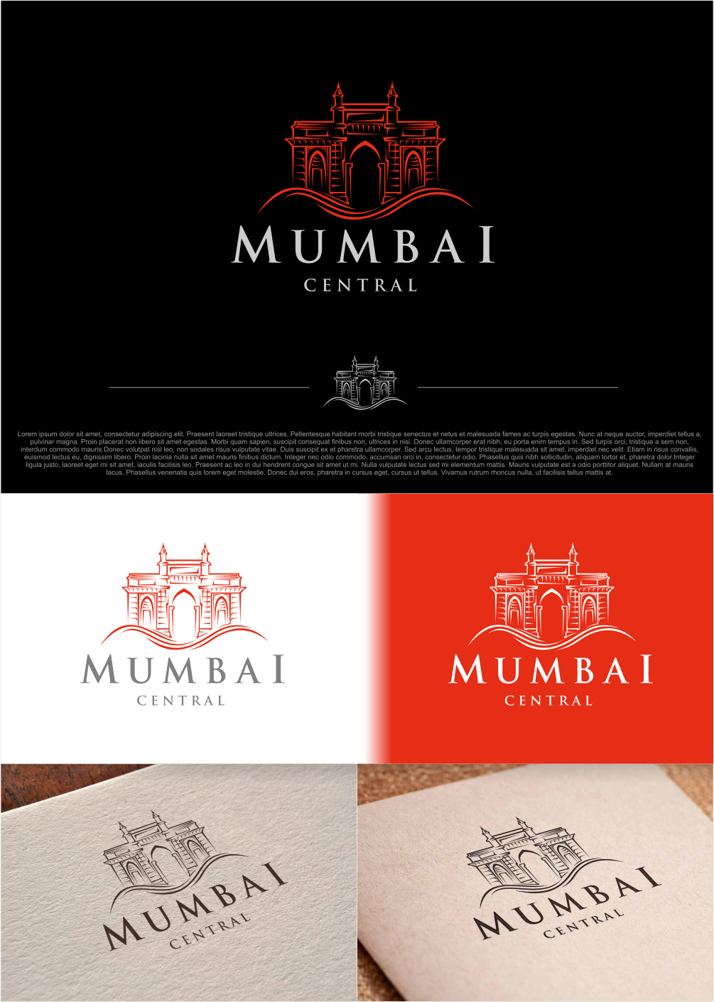 Personable, Serious, Indian Restaurant Logo Design for The