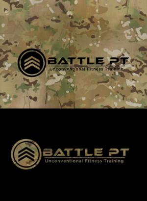 Bold, Serious, Fitness Logo Design for BATTLE PT