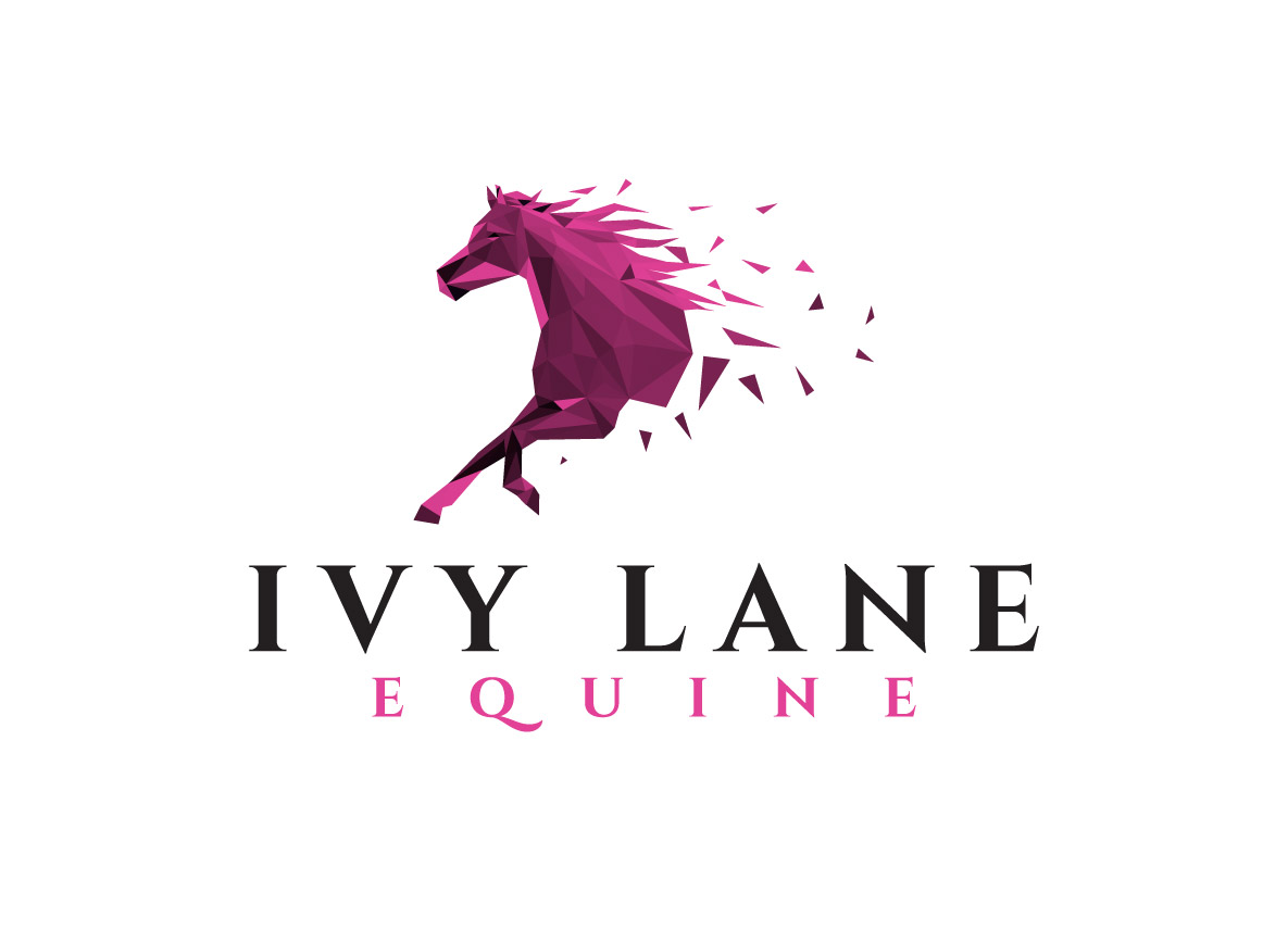 Playful Professional Pet Care Logo Design For Ivy Lane Equine By Creative Bugs Design 14204571