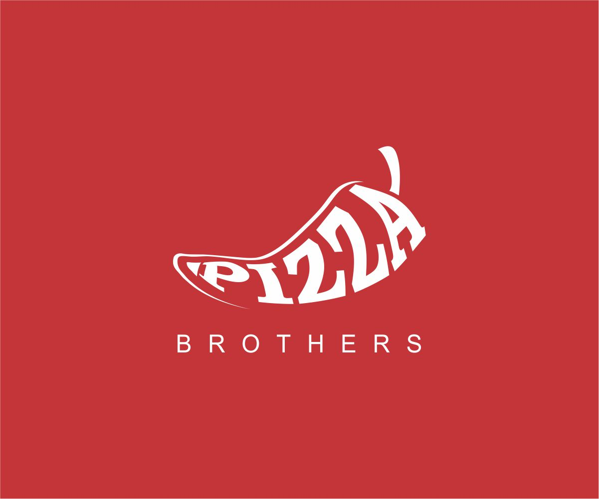 shop logo design for pizza brothers pizza pie pizza