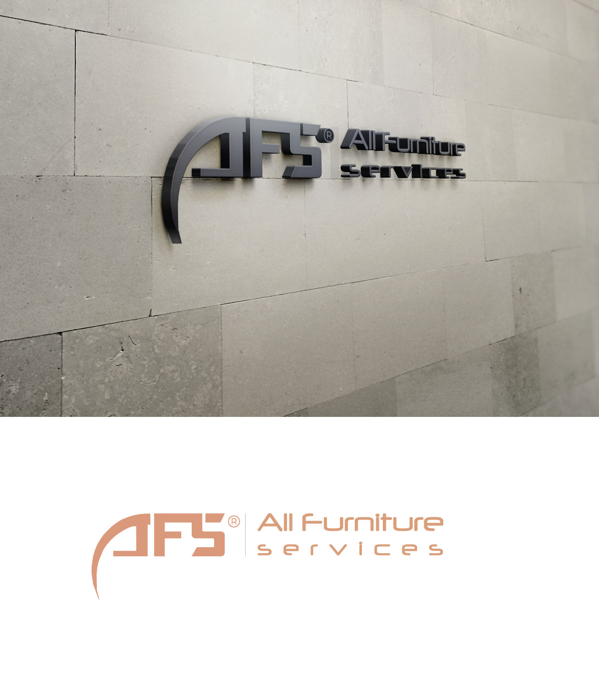 Professional, Upmarket, Furniture Logo Design for AFS / All