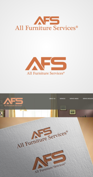Perfect Logo Design (Design #14131031) Submitted To AFS All Furniture Services    Logo (