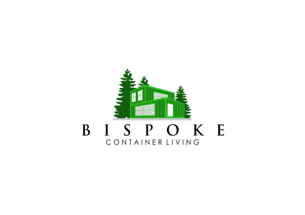 Modern Professional Home Builder Logo Design For Bespoke Container