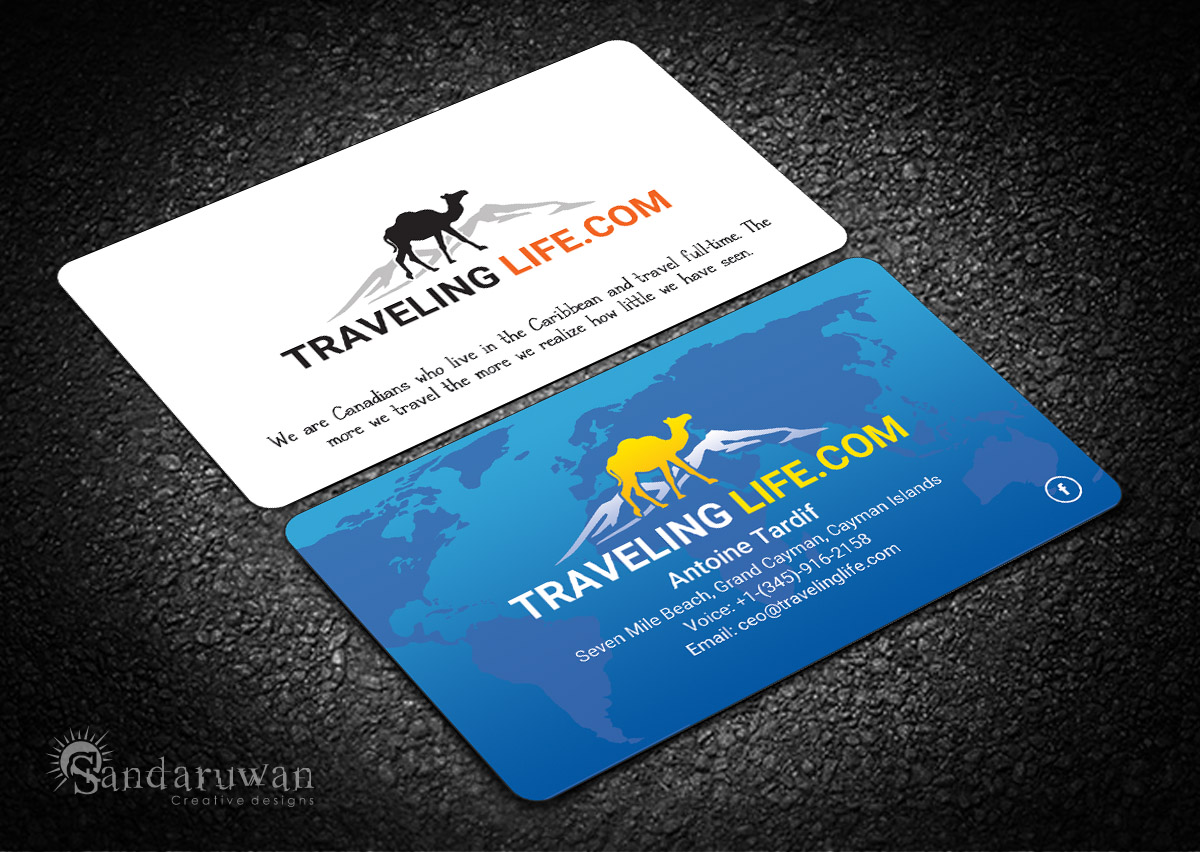 Modern, Professional, Travel Business Card Design for Go Marketing ...