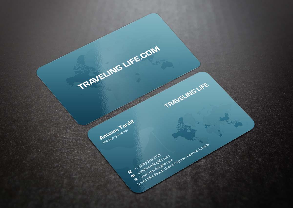 198 Modern Business Card Designs | Travel Business Card Design ...