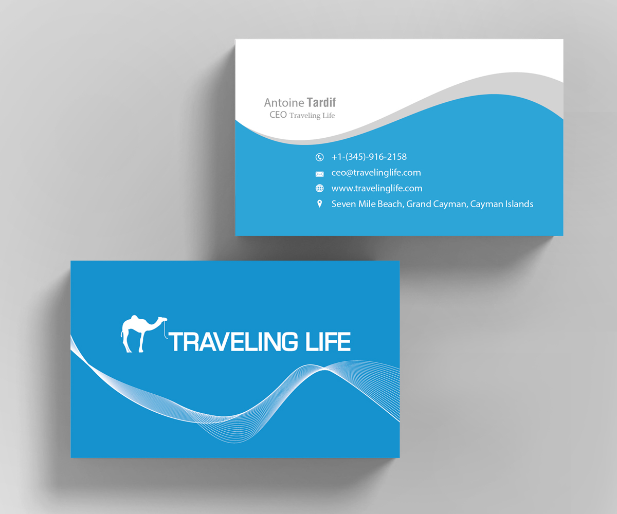Modern, Professional Business Card Design for Go Marketing Inc by ...