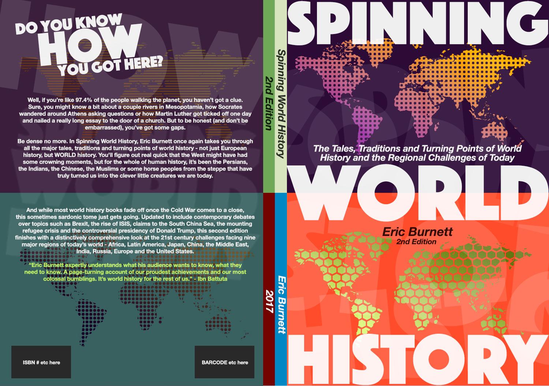 Modern Book Cover History ~ Serious modern book cover design for eric burnett by