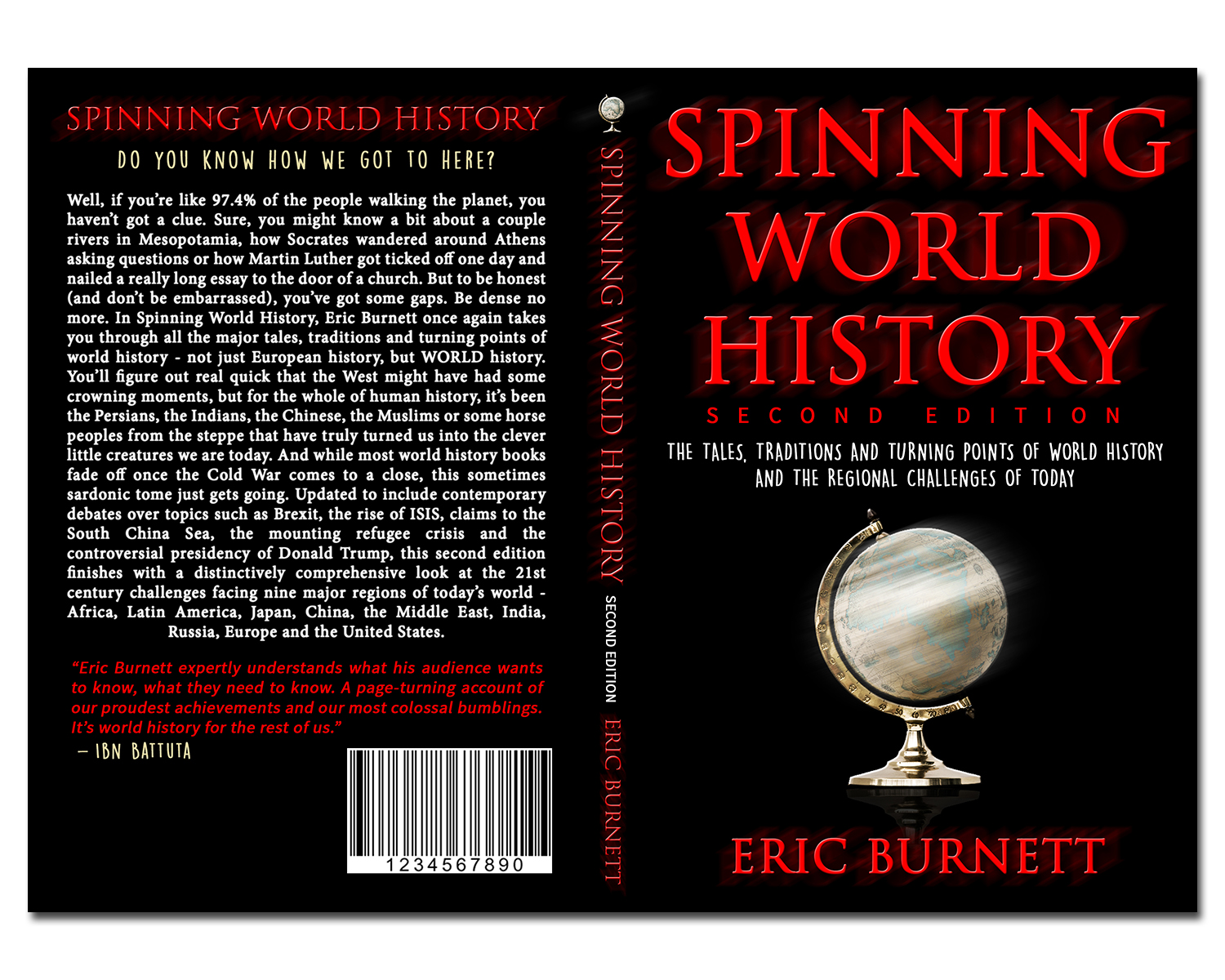 Modern Book Cover Designs : Serious modern book cover design for eric burnett by