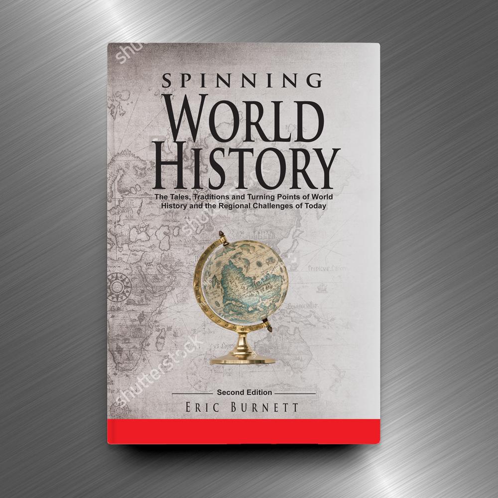 Book Jacket Design History : Serious modern book cover design for eric burnett by