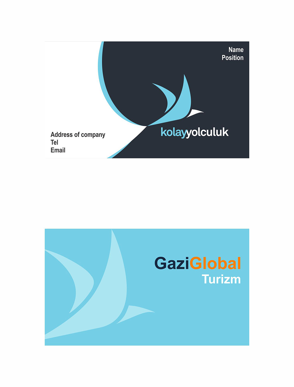 Professional, Modern, Travel Business Card Design for a Company by ...