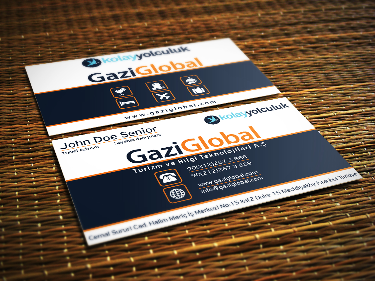 Professional modern travel business card design for a company by business card design by ivory ns for this project design 14258694 reheart Images