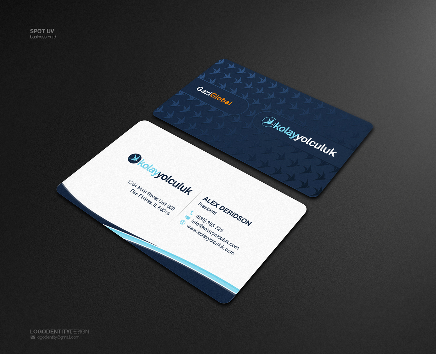 Professional, Modern Business Card Design for Fikret Burak ...