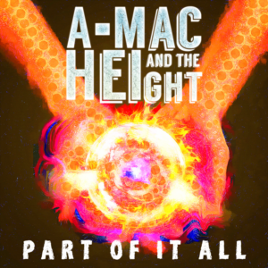 Modern, Colorful, Entertainment CD Cover Design for A-Mac and the