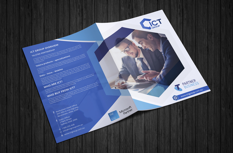 Playful, Modern, Internet Brochure Design for a Company by ecorokerz ...