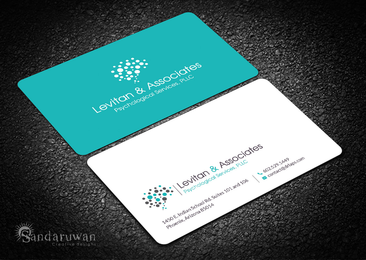 Bold Modern Mental Health Business Card Design For A Company By Sandaruwan Design 14198049